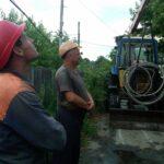 В Новоархангельську продовжуються  відновлювальні роботи